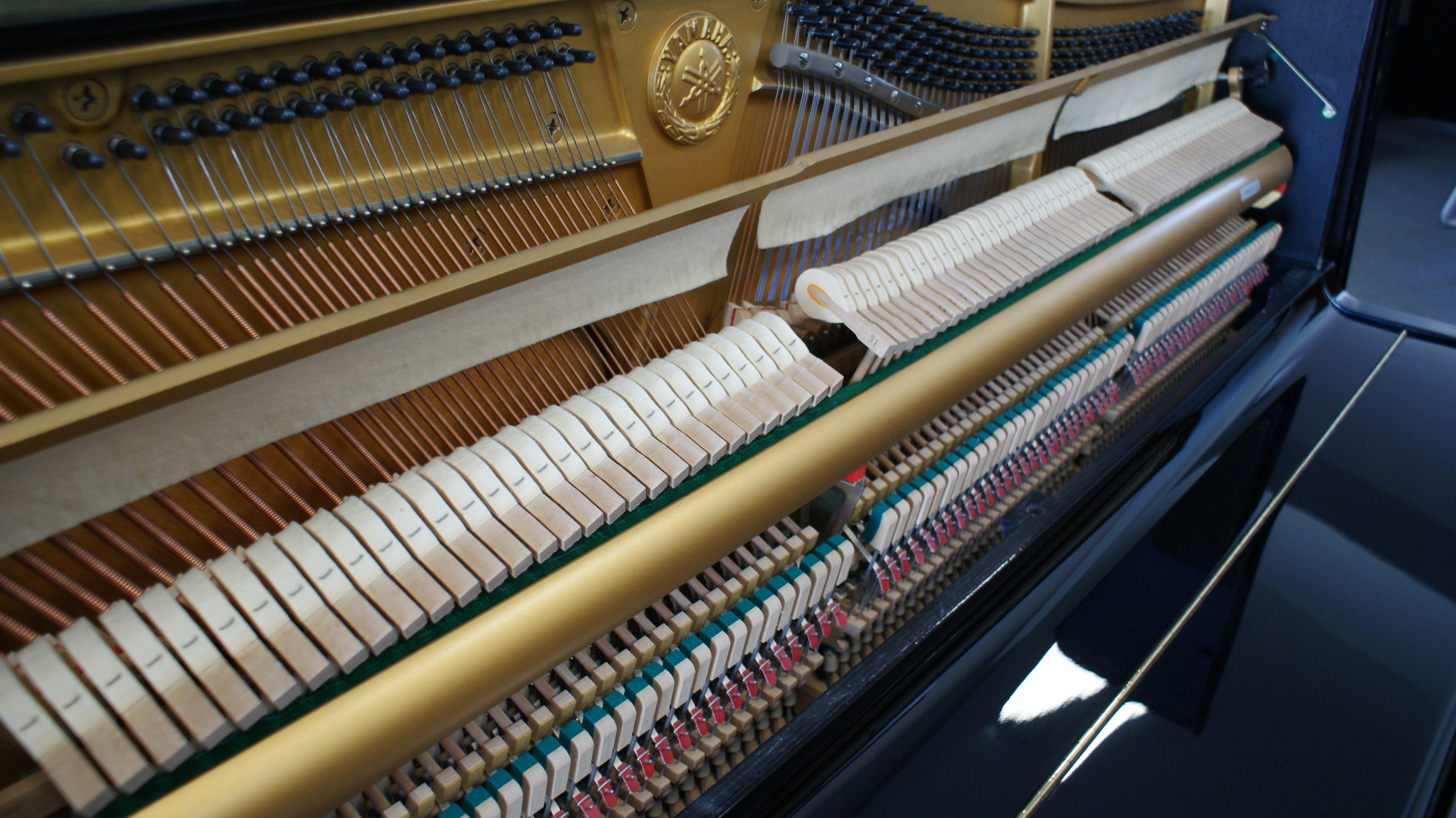 świetne pianino Yamaha U1A nr 4121856